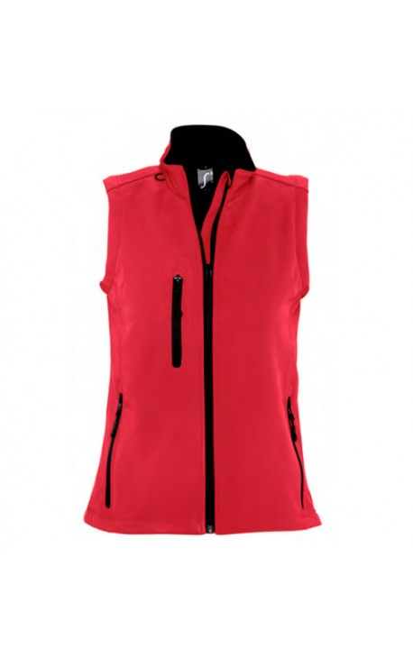 CHALECO MUJER SOFTSHELL